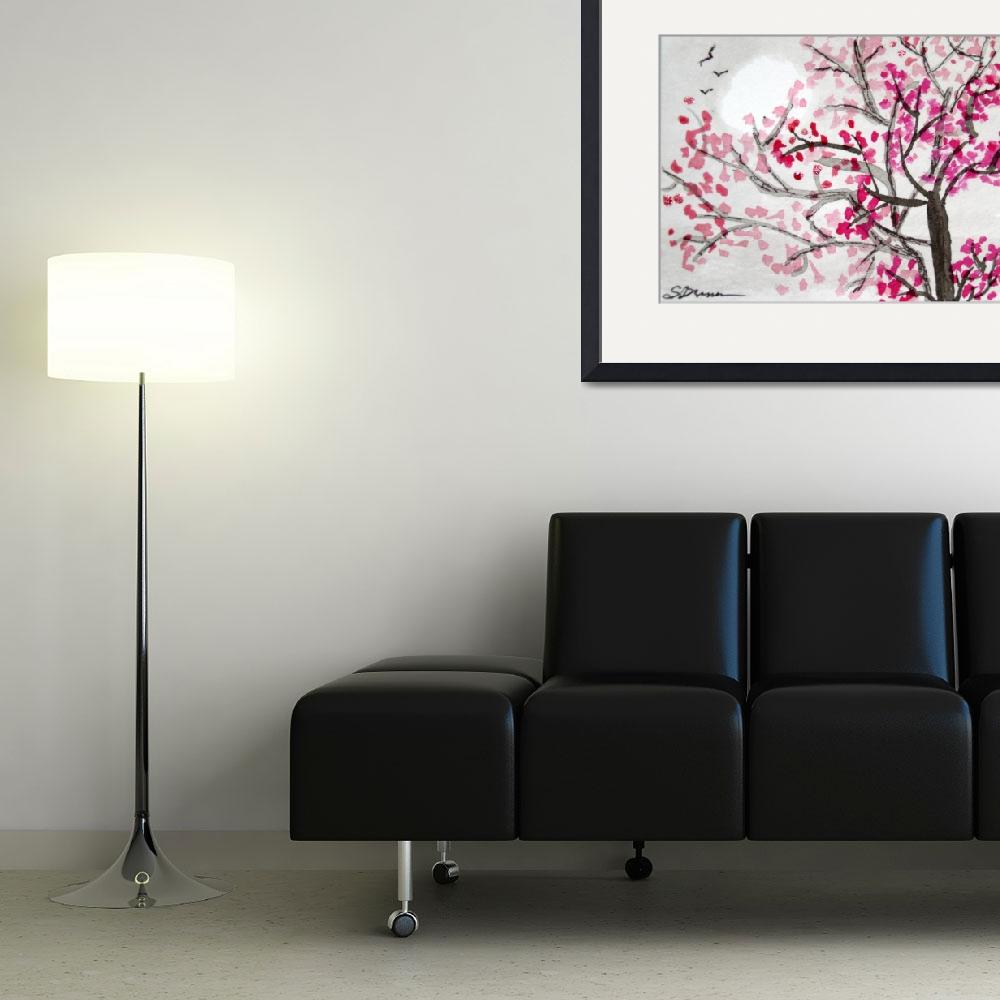"""""""Plum Blossoms I&quot  (2008) by sharilynn1999"""