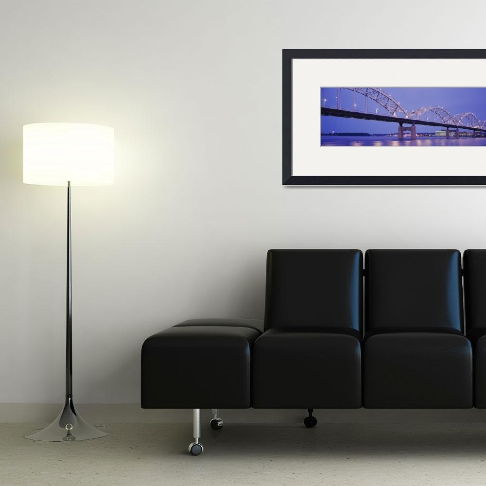 """""""Bridge over a river&quot  by Panoramic_Images"""