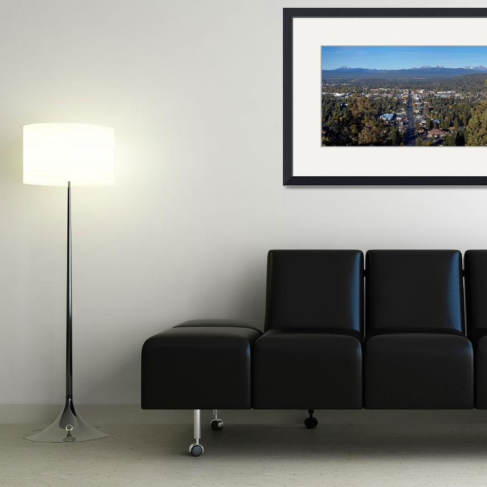 """""""Bend, Oregon from Pilot Butte&quot  by North22Gallery"""