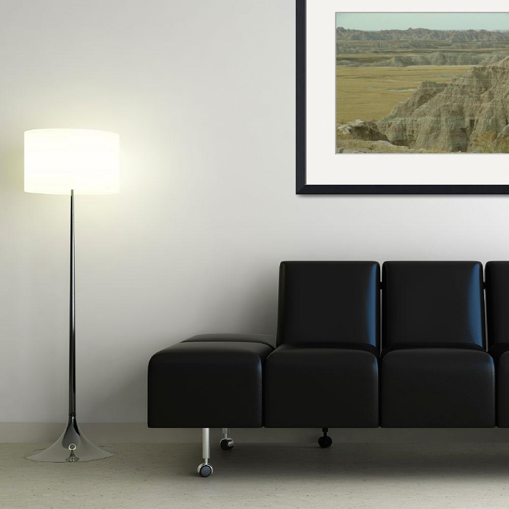 """""""Badlands Panorama&quot  (2011) by TheElectricOrphanage"""