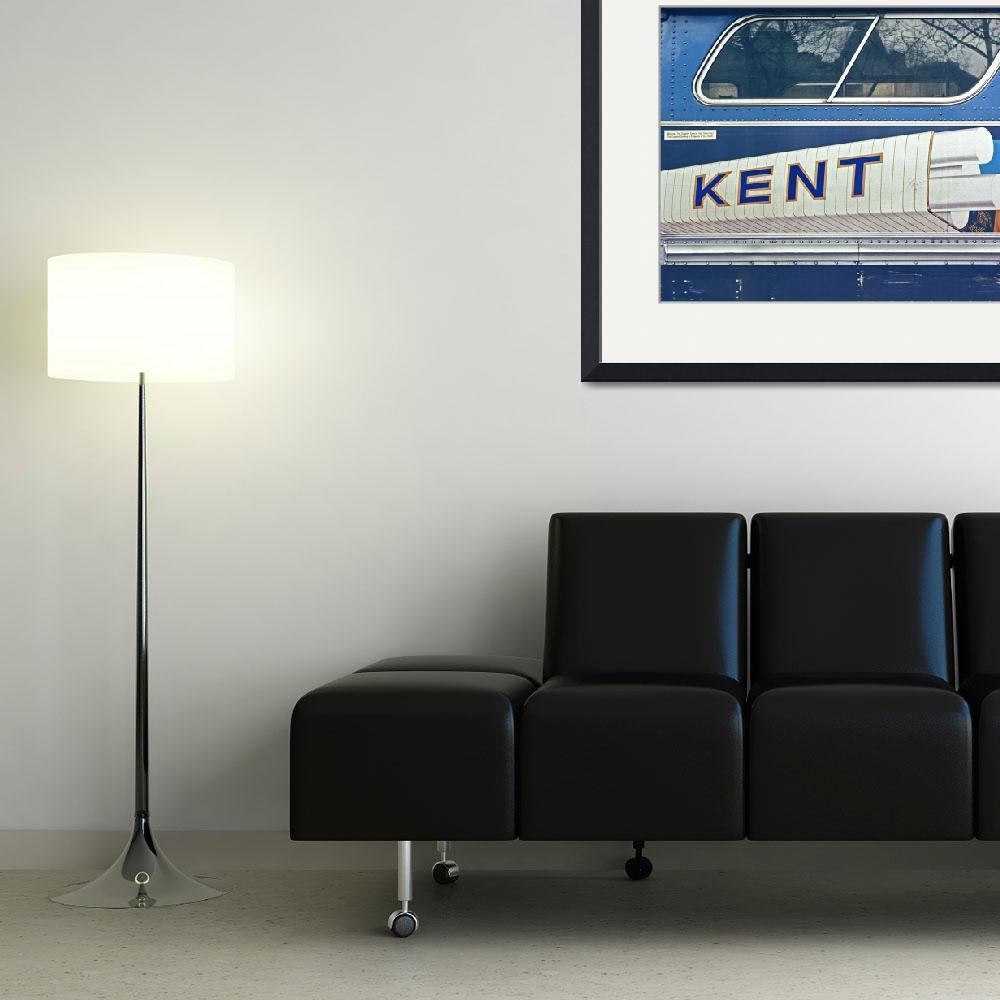 """""""Kent (Pop Art on a Bus)  Vintage Color""""  by RussMartinPhotography"""