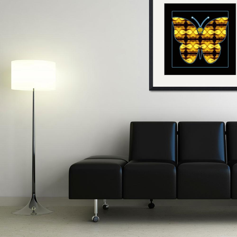 """Abstract_Butterfly-02&quot  (2014) by AppleCoreStudio"