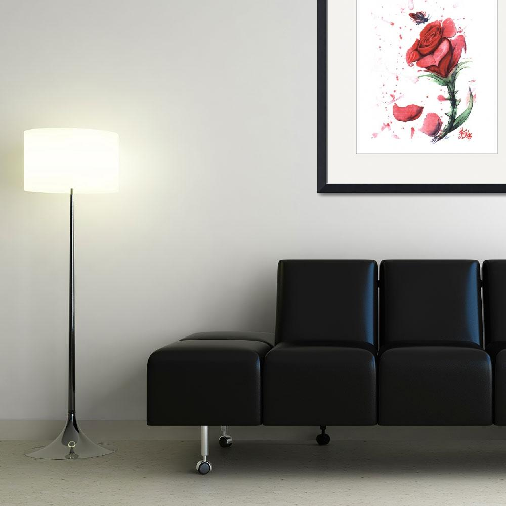 """""""Red Rose&quot  (2006) by joedigspi"""