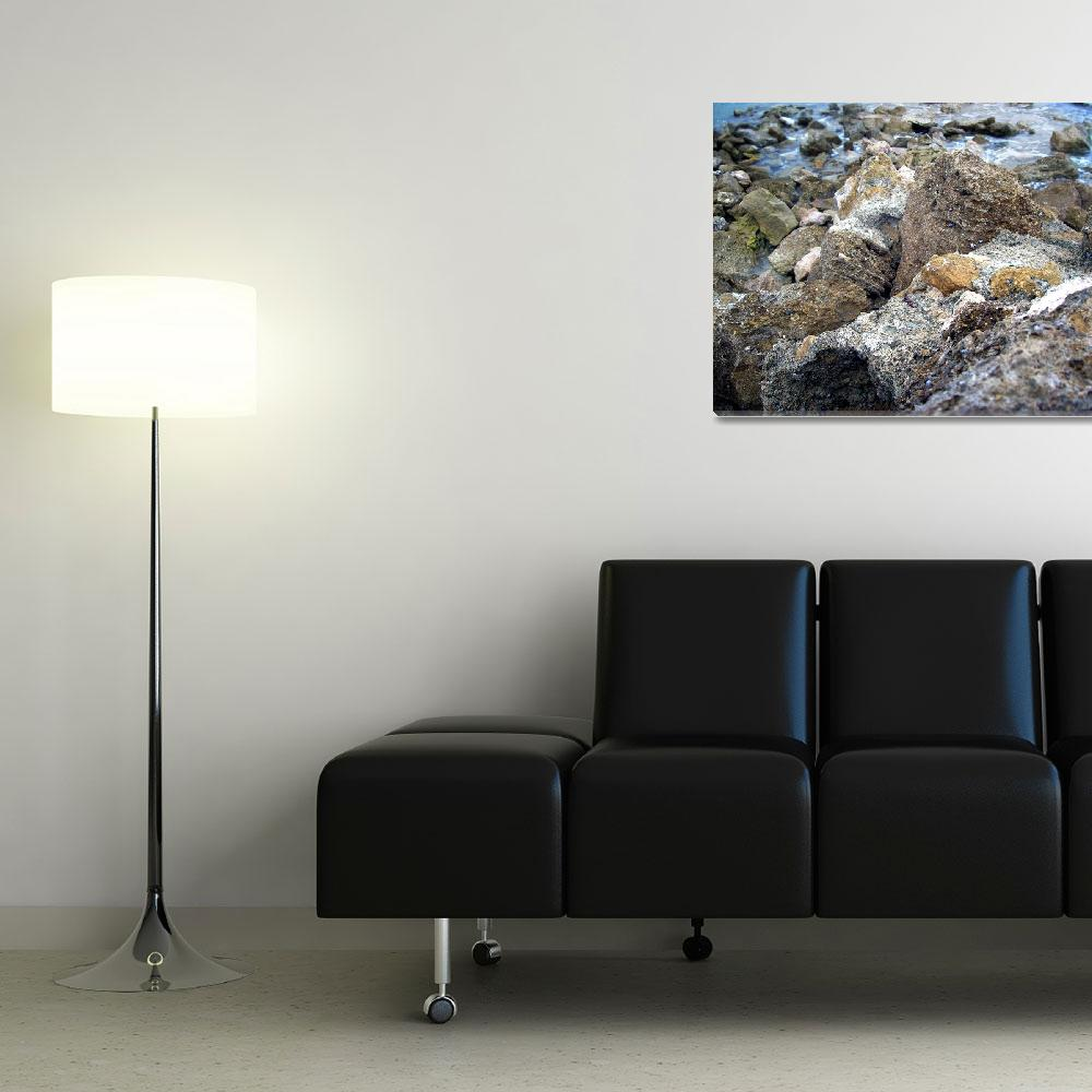 """""""Rock Beach&quot  (2009) by abecrod"""