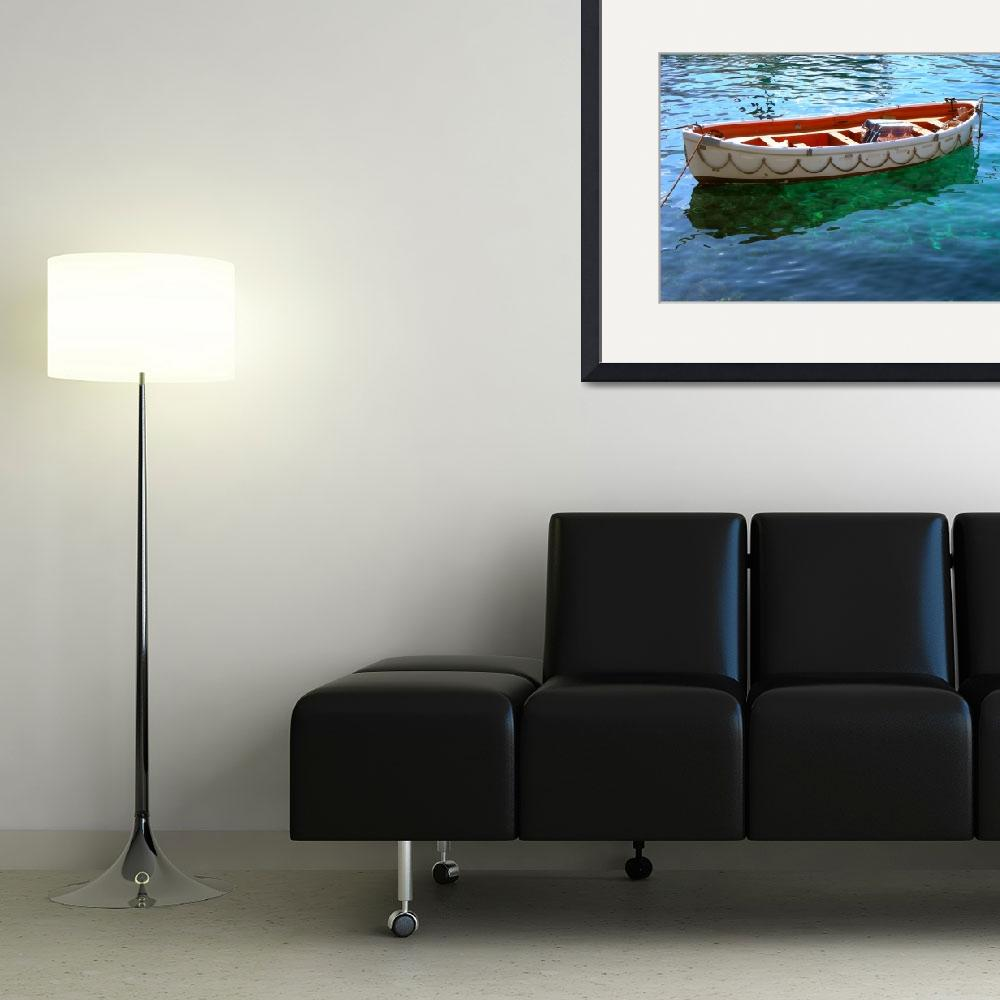 """""""Ydra Fishing Boat&quot  by devinfamily"""