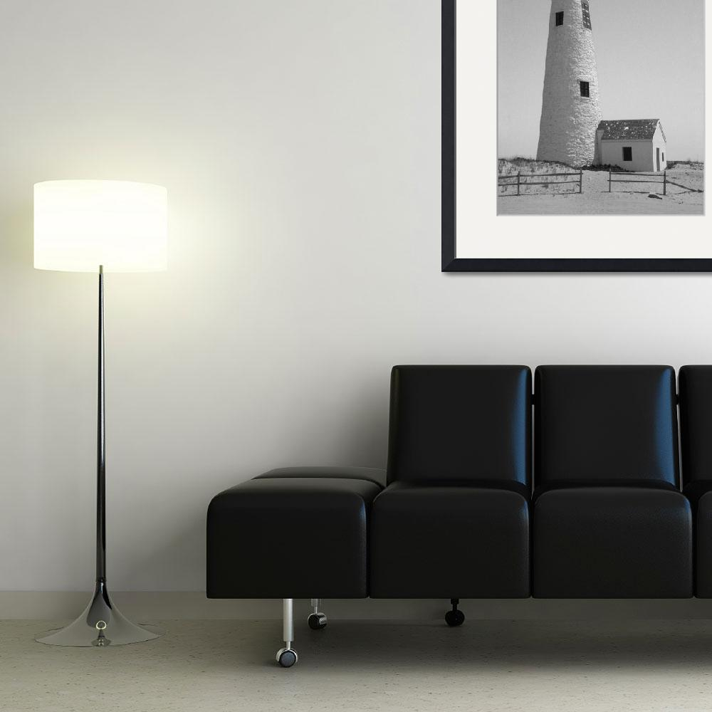 """""""Great Point Lighthouse Nantucket""""  (2009) by MAGartworks"""