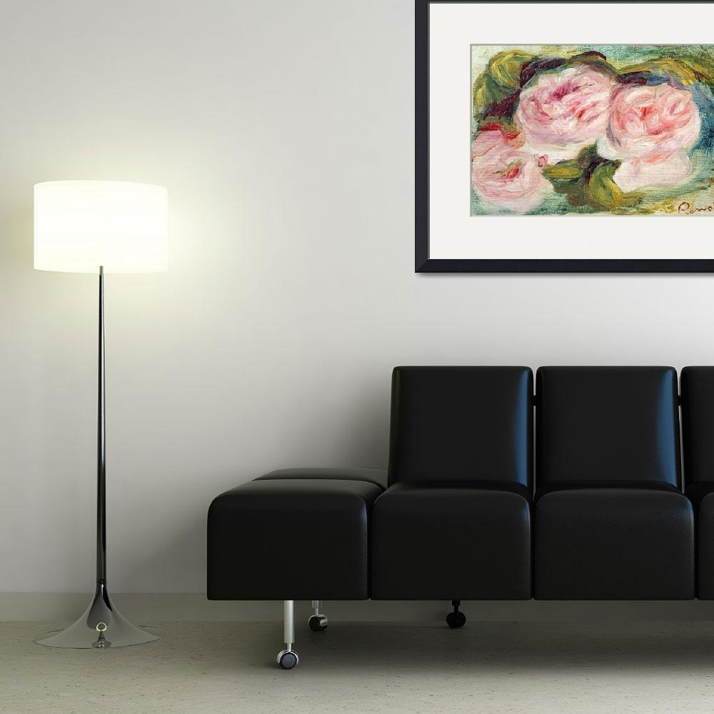 """""""The Three Roses by Renoir&quot  by fineartmasters"""