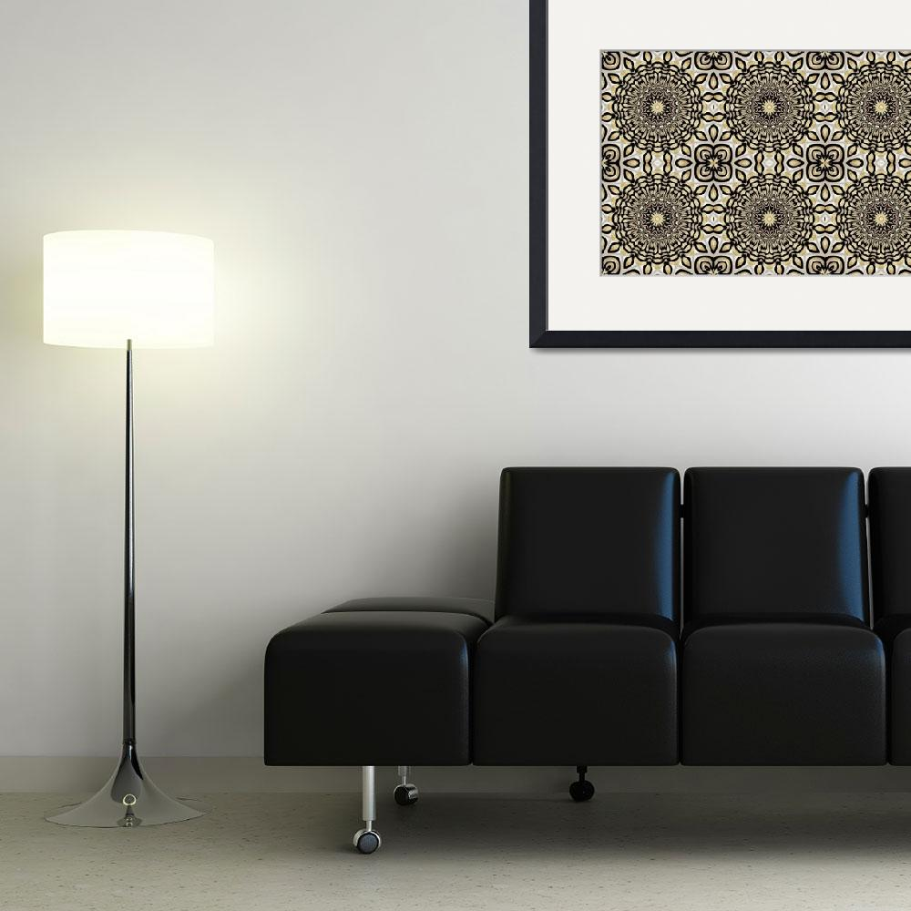 """""""Art ZIZZAGO Pearl Collection BIG13-tile&quot  by shanmaree"""