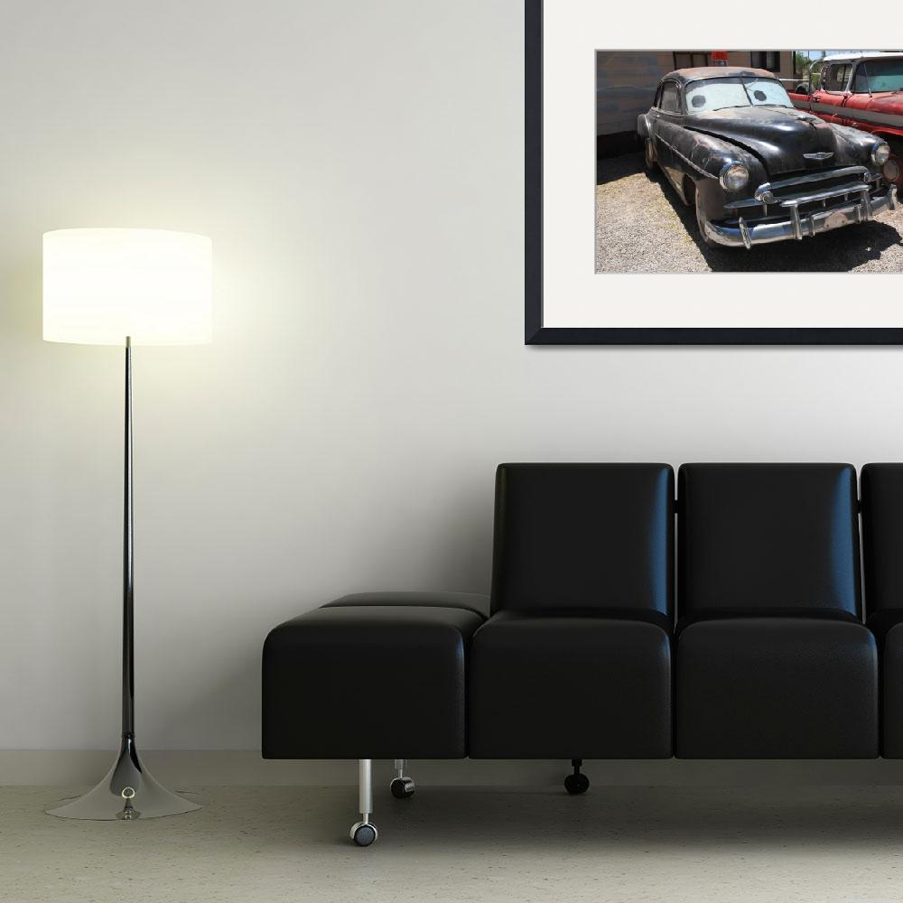 """""""Route 66 Classic Car&quot  (2012) by Ffooter"""