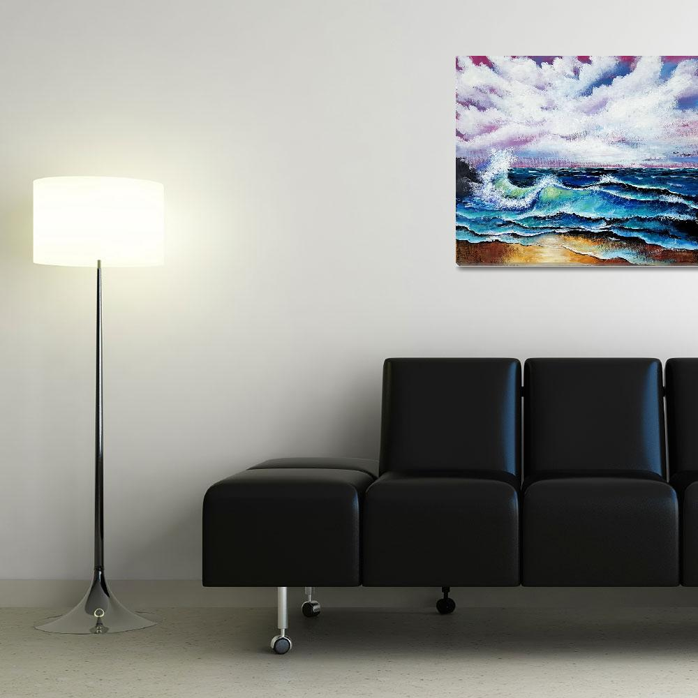 """Seascape&quot  by galina"