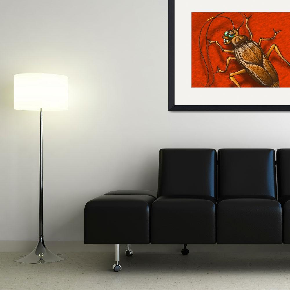 """""""Sexy Cockroach&quot  (2011) by Zooco"""
