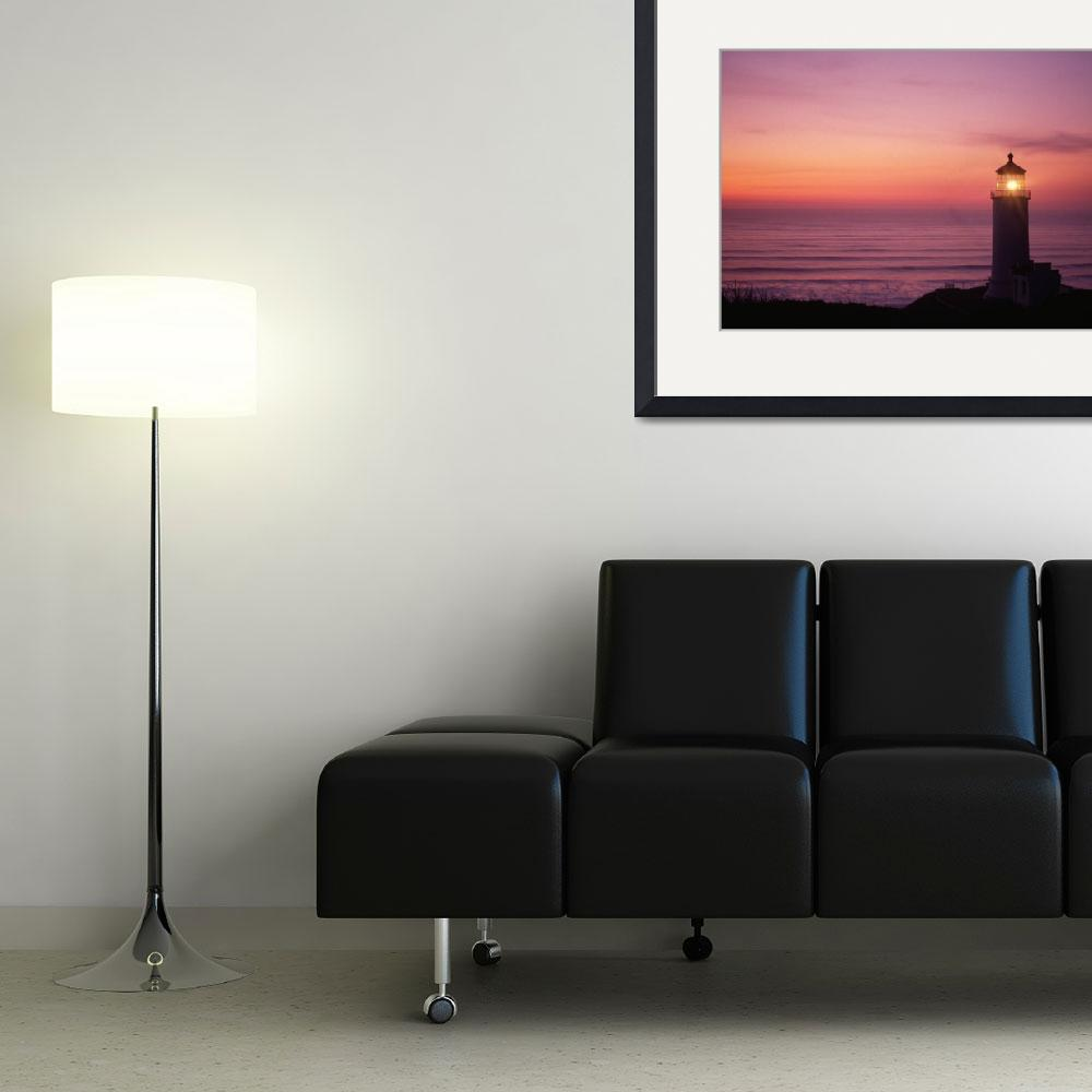 """""""North Head lighthouse&quot  (2008) by christopherboswell"""