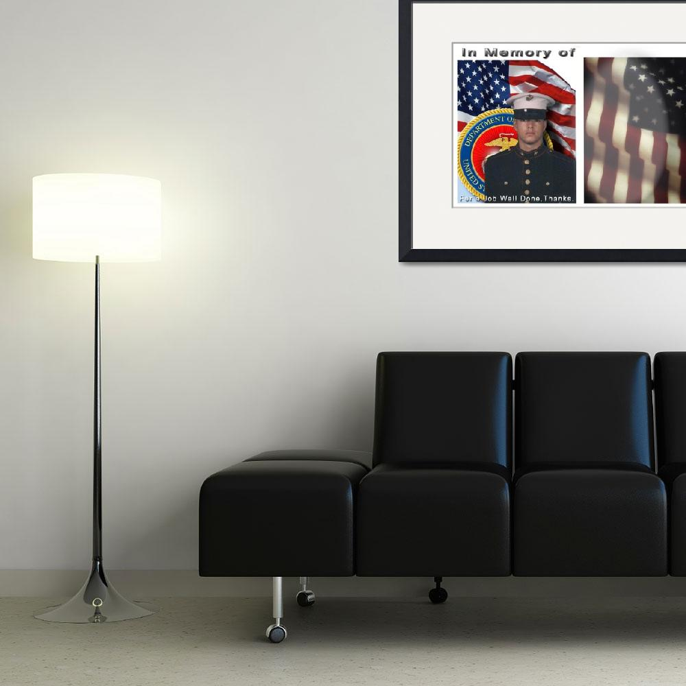 """""""Military Memorial&quot  (2007) by LAArtworks"""