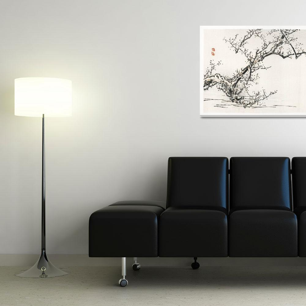 """""""Blossoming Tree by Kono Bairei""""  by FineArtClassics"""