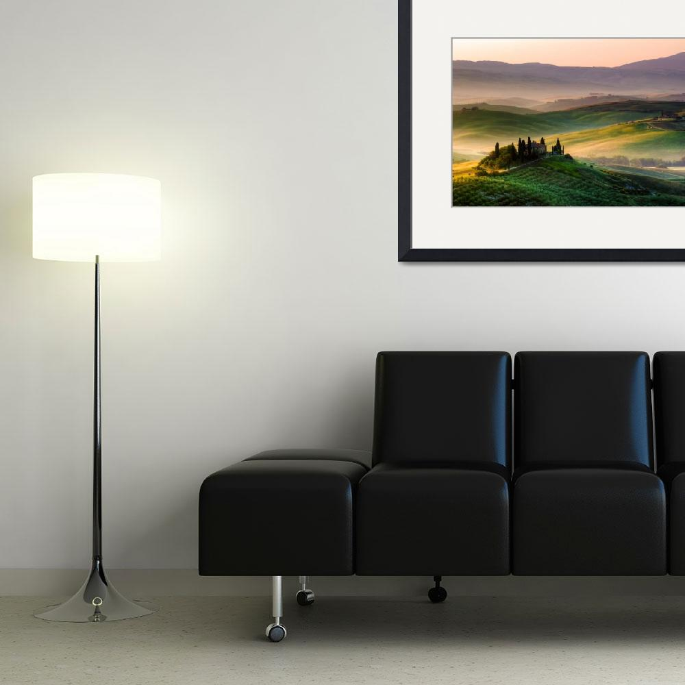 """""""Tuscan Morning""""  (2012) by ronnybas"""