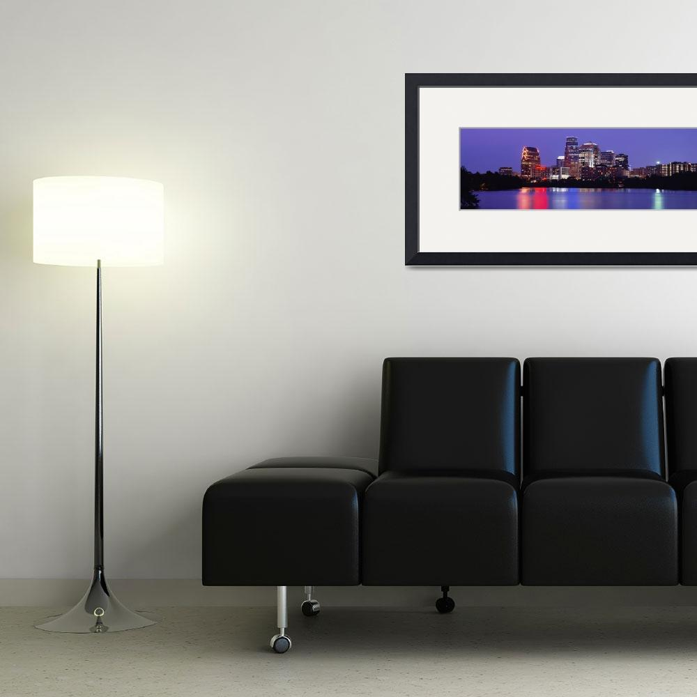 """""""Skyline Austin TX&quot  by Panoramic_Images"""