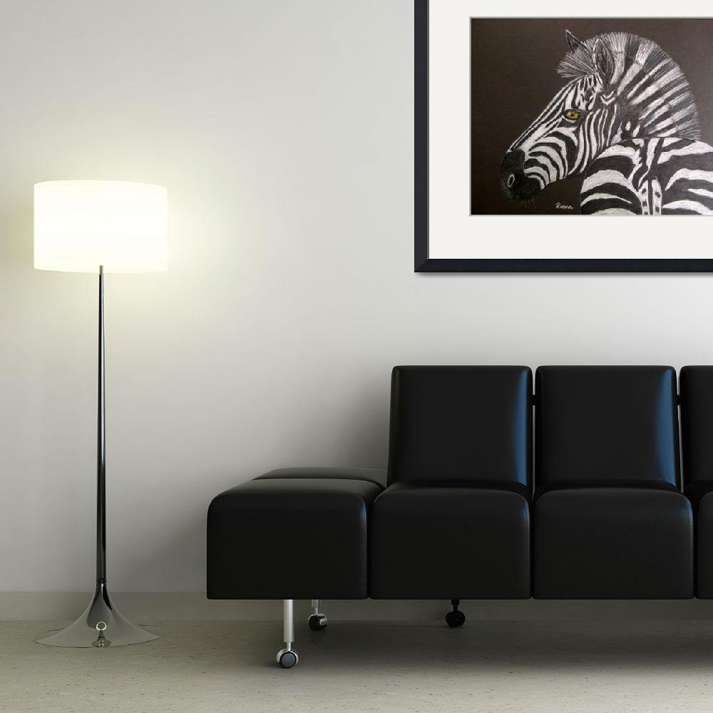 """Zebra&quot  (2012) by RIANA"