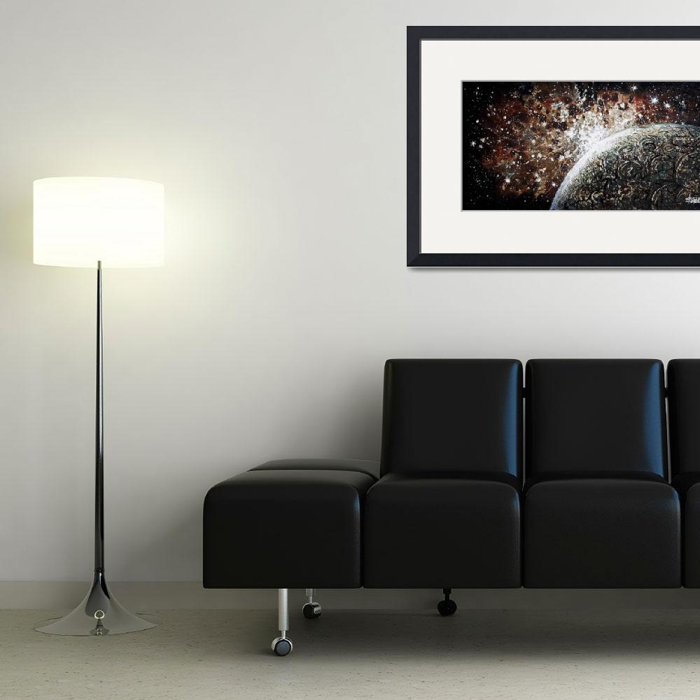 """Brown Nebula&quot  (2007) by spaceart"