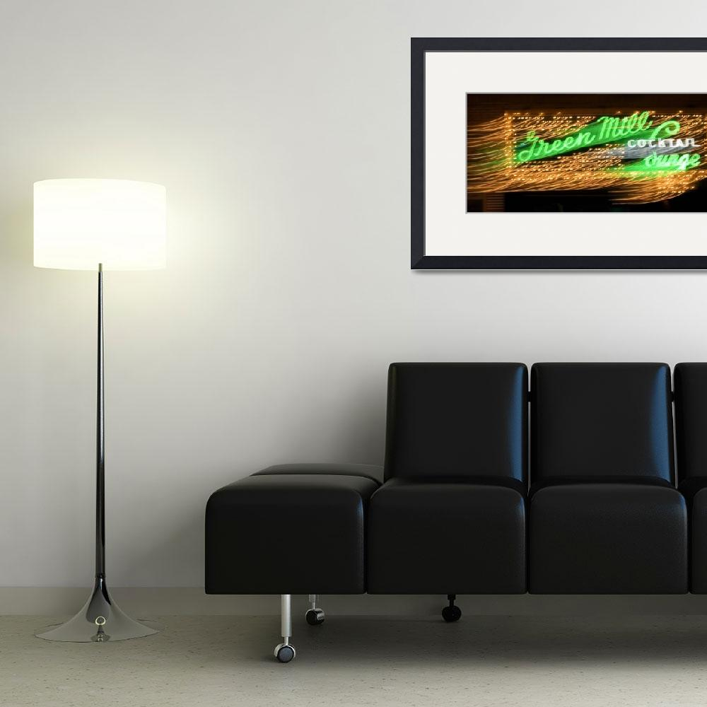 """""""green mill lounge&quot  (2007) by studiobrian"""