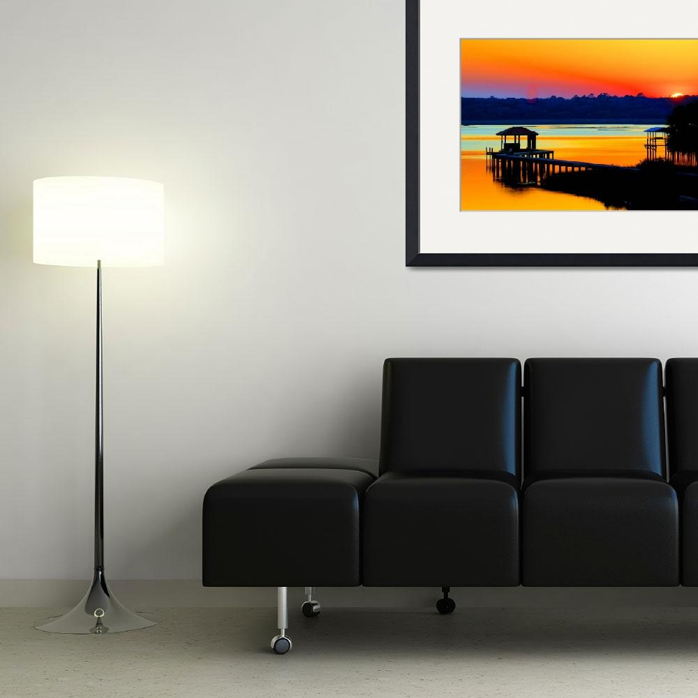 """""""Chromatic Sunset&quot  (2008) by ConceptBlue"""
