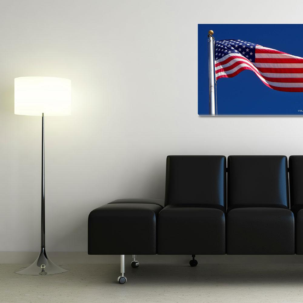 """""""God Bless America&quot  (2010) by bettynorthcutt"""