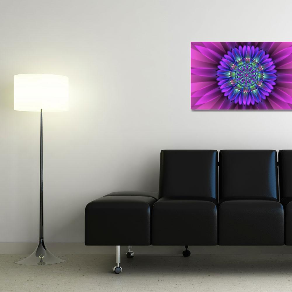 """flower translucent 25""  (2012) by ecolosimo"
