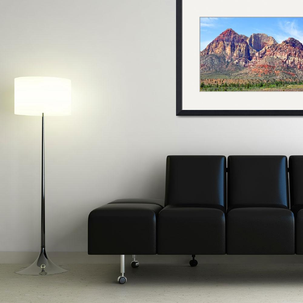 """""""Red Rock Trio&quot  (2013) by Kirtdtisdale"""