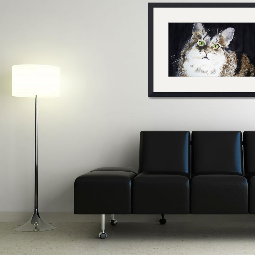 """""""The Purfect Model&quot  (2011) by ARTistic_Anne"""