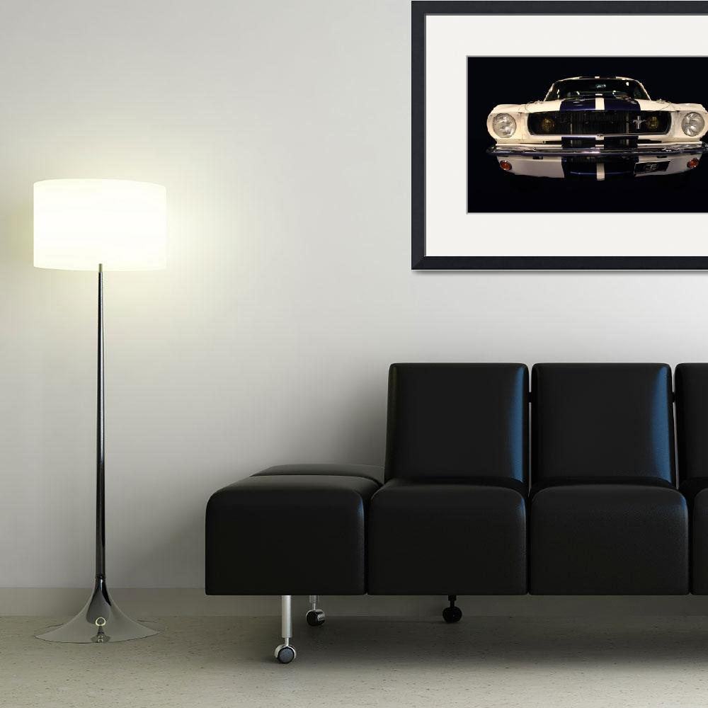 """""""ford front view&quot  (2011) by Radodn"""