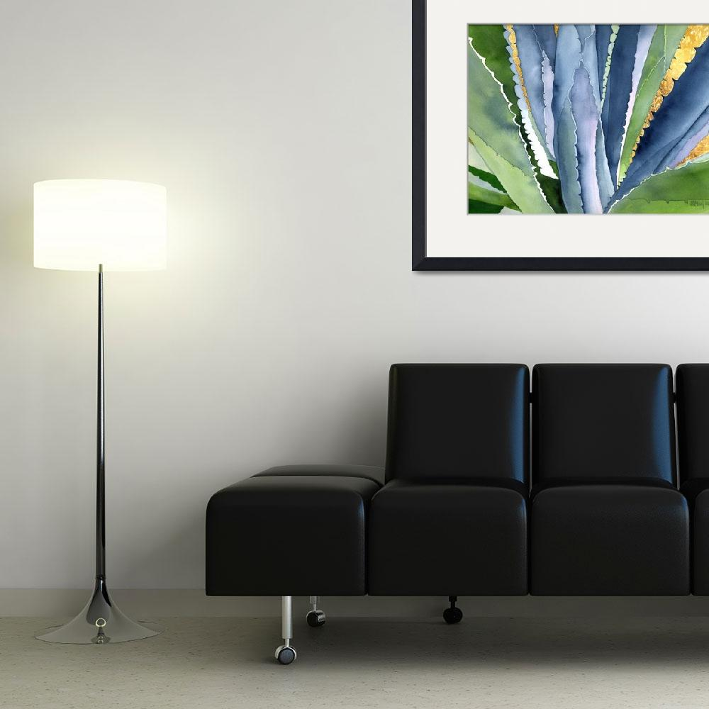 """""""Agave 2&quot  (2007) by art4fish"""