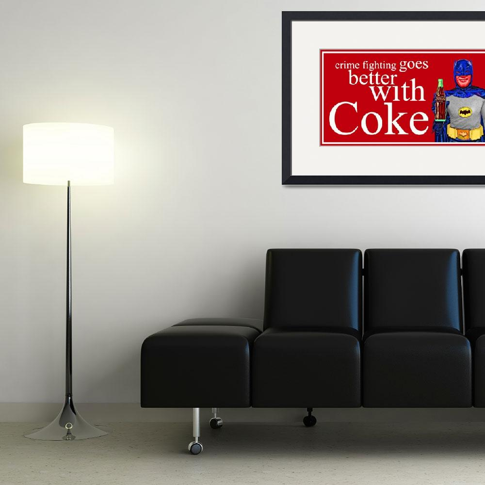 """""""Batman - Crimefighting goes better with Coke&quot  (2014) by Automotography"""