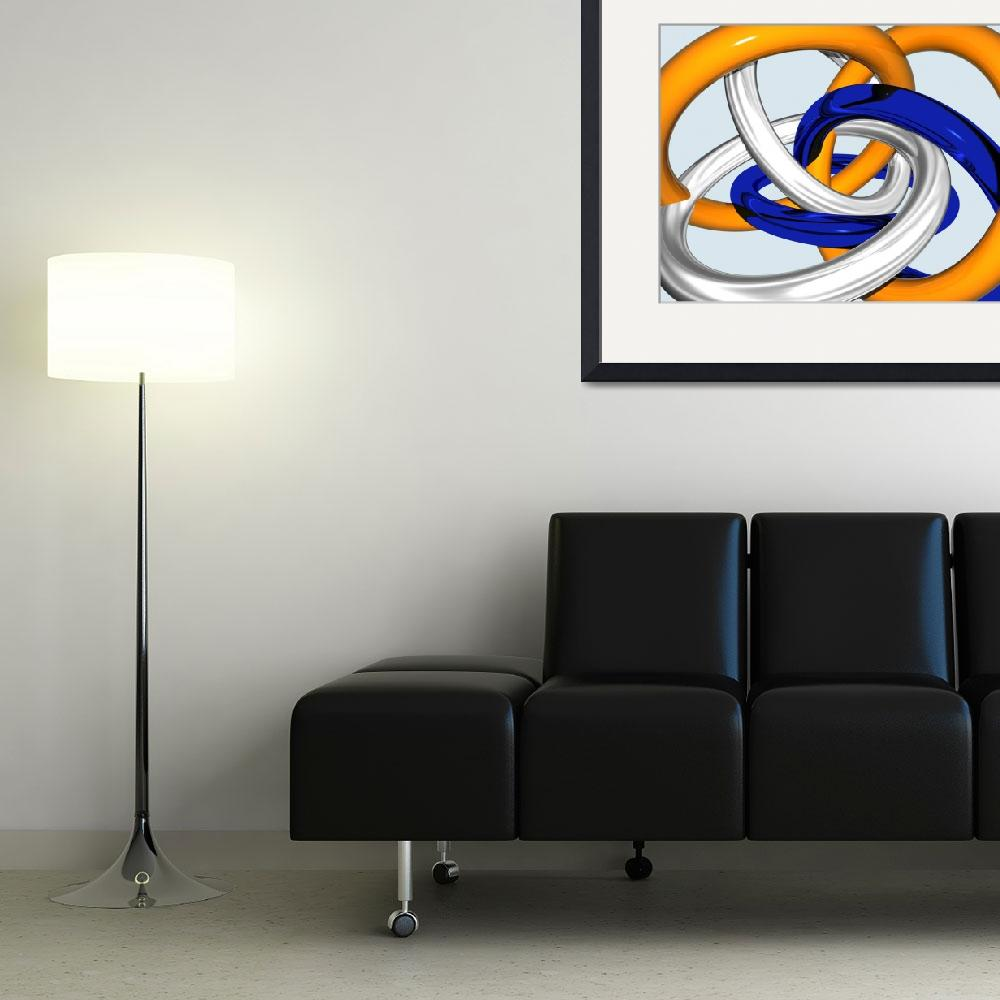 """""""joint venture abstract art&quot  (2008) by bmdino"""