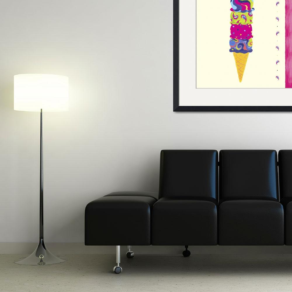 """""""Ice Cream Cone&quot  by artlicensing"""