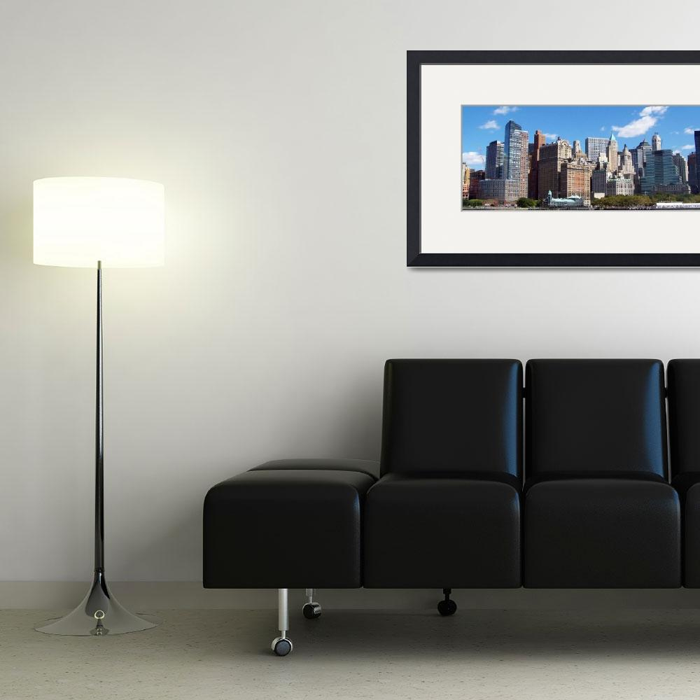 """downtown_Manhattan_Skyline&quot  (2008) by Steve_Andrew"