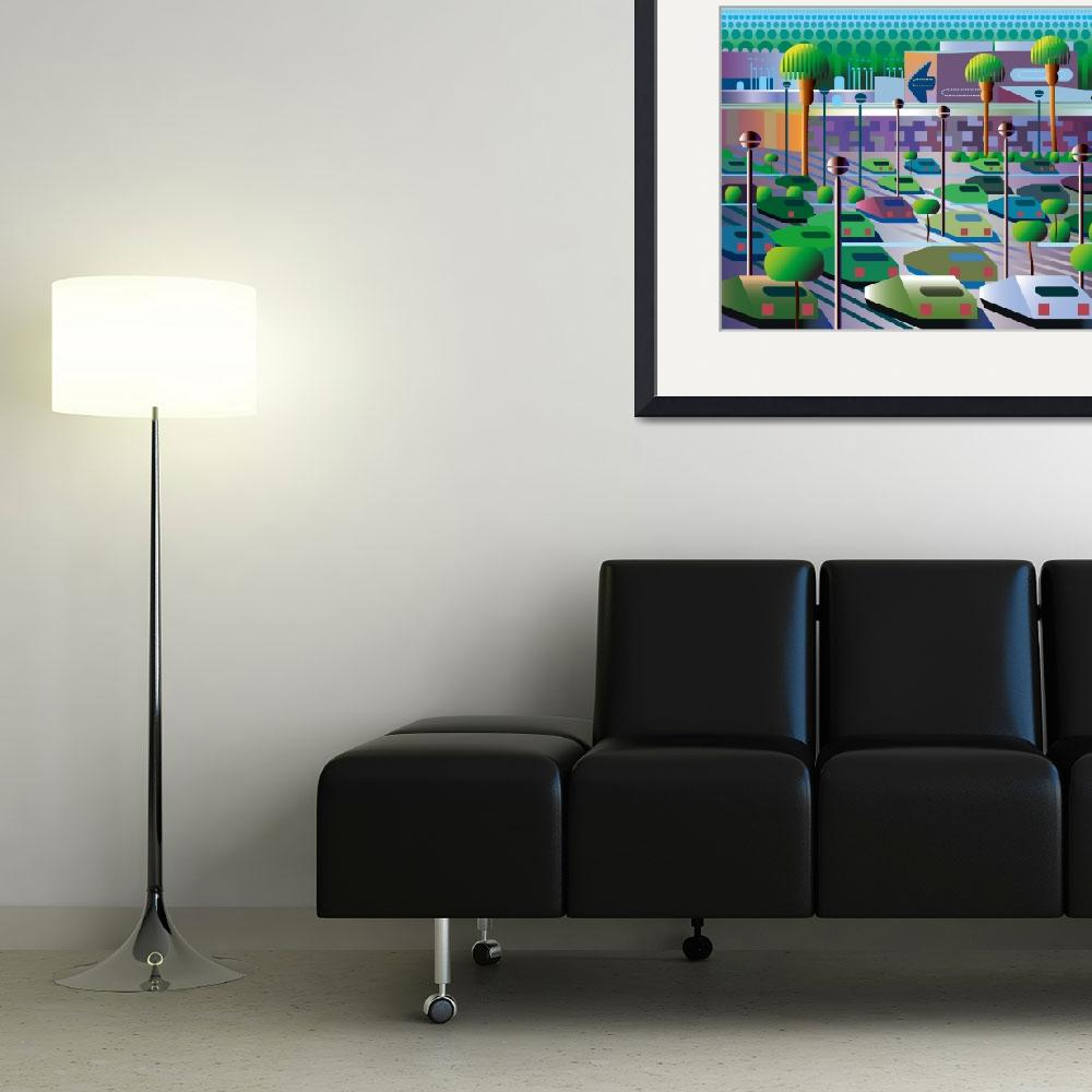 """""""Mall, Campus, Plant, Office Park, America&quot  (2012) by charker"""