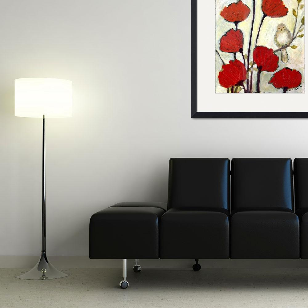 """""""Under the Poppies No 2&quot  (2011) by JENLO"""