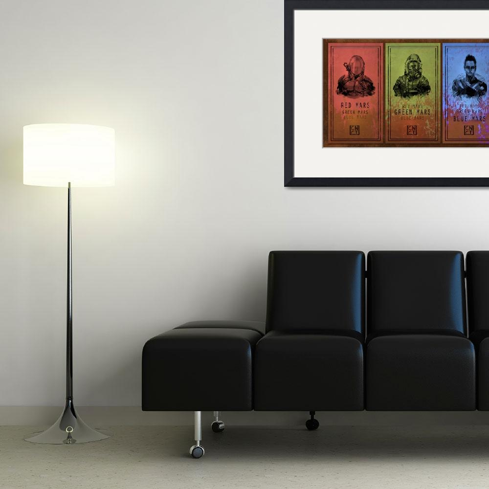 """""""Mars Trilogy&quot  (2010) by carlosnct"""