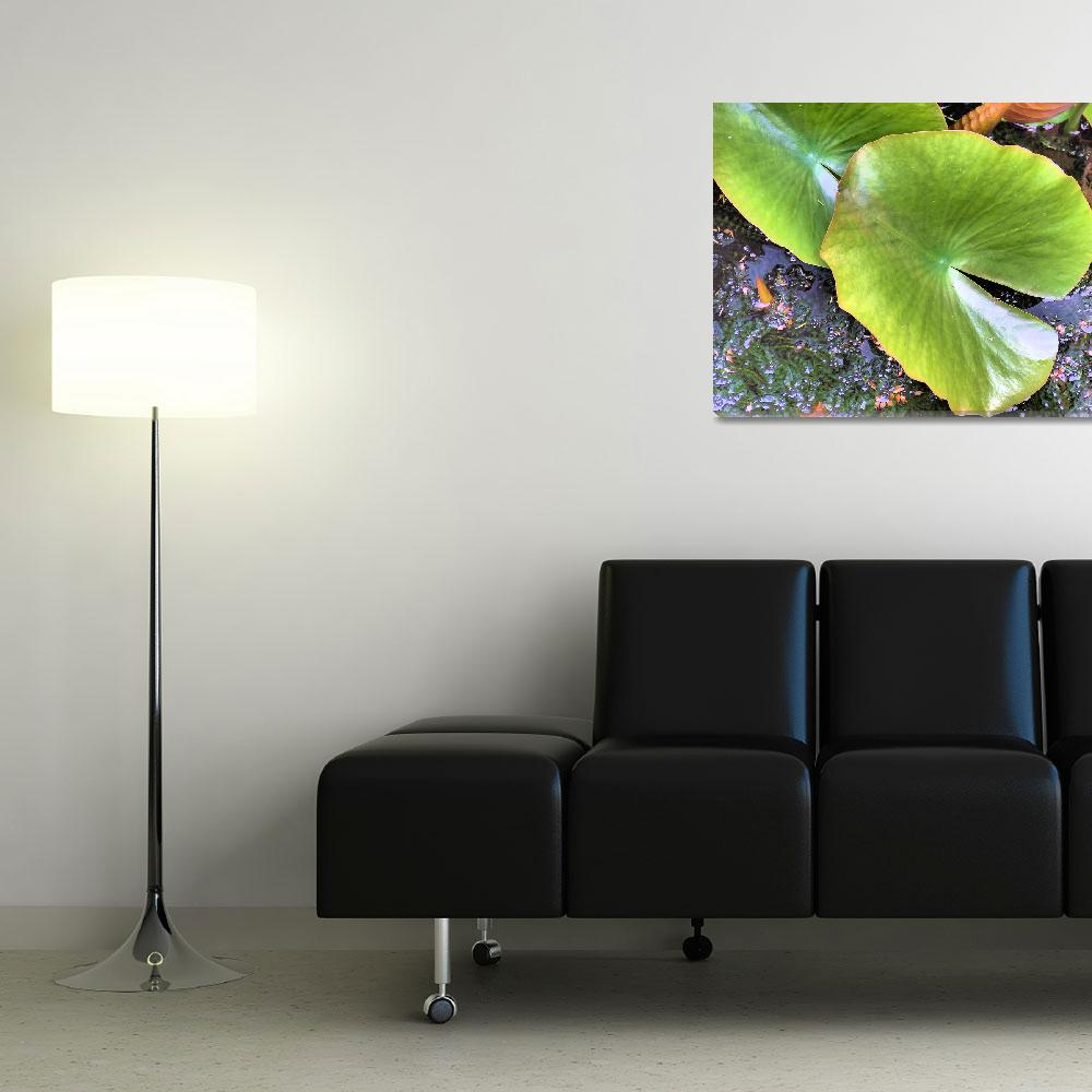 """""""Green leaf&quot  (2008) by wilkyphoto"""