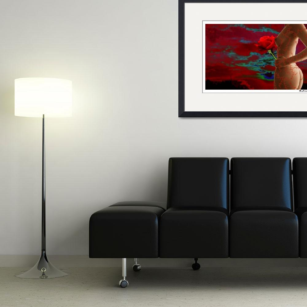 """""""Thorns Nude""""  (2009) by brianisaacsart"""