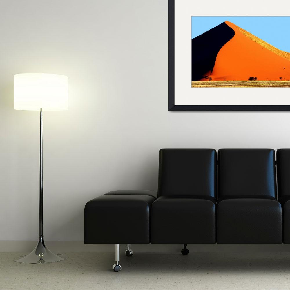 """""""Sossusvlei Dune Shadow&quot  by ccsg51"""