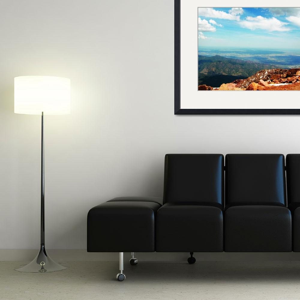 """""""Top of the Mountain&quot  (2010) by GibbonsDesigns"""