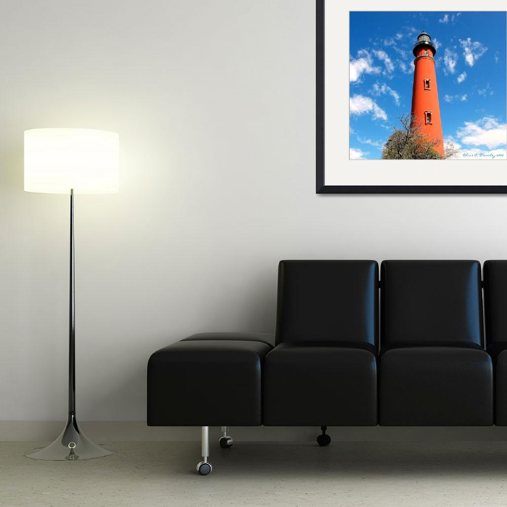 """""""Ponce Inlet Lighthouse&quot  (2009) by ChrisCrowley"""