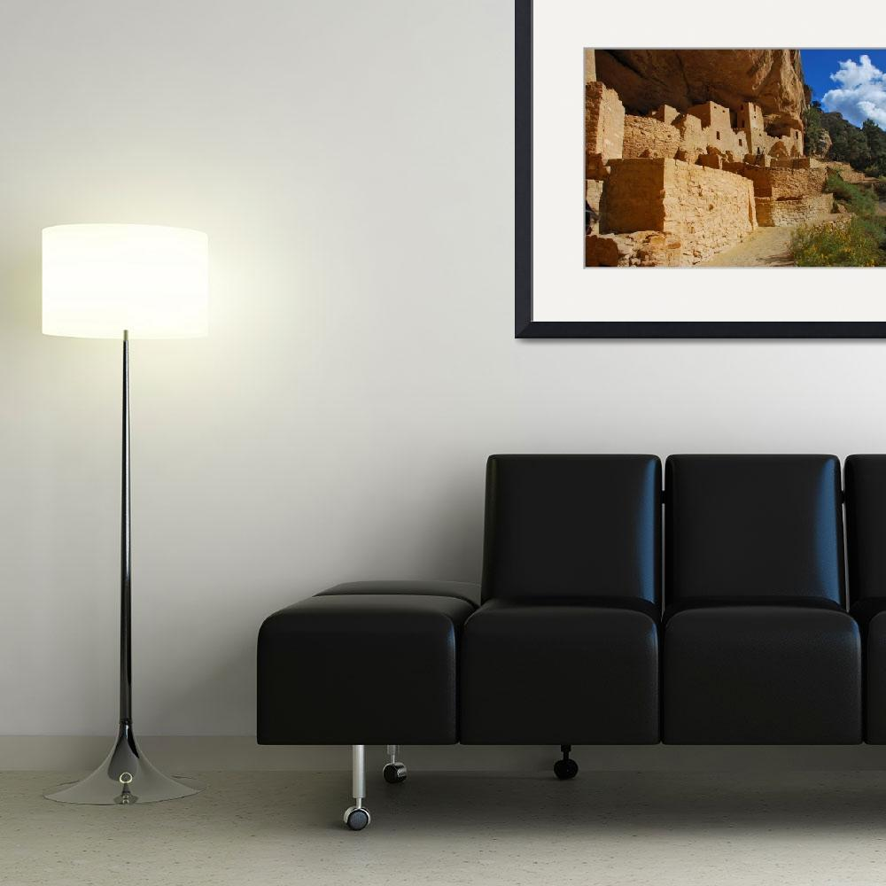 """""""Anasazi Cliff Palace, Cliff Dwellings, Mesa Verde&quot  by toddbush"""