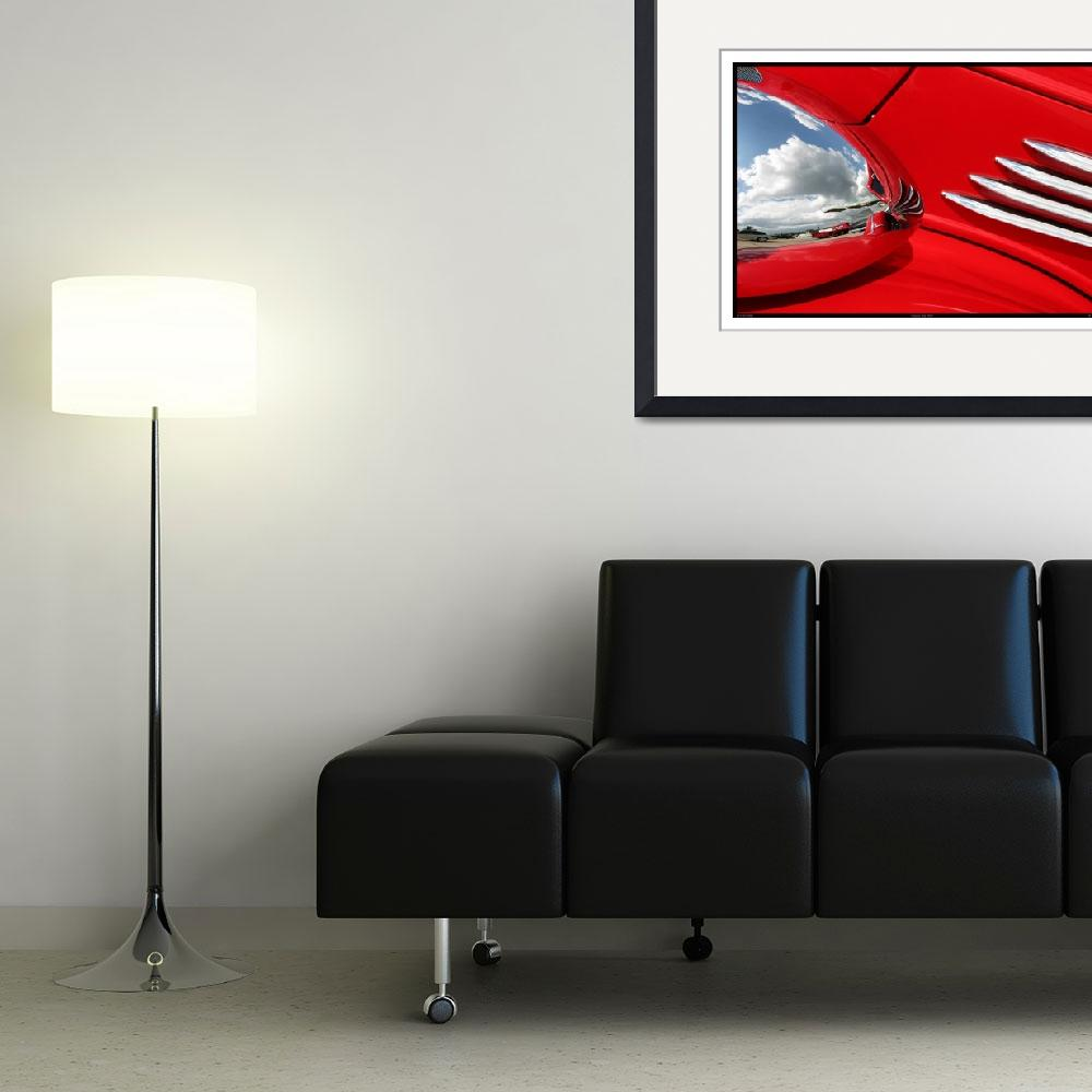 """""""Classic Car Red 07.13.07_298&quot  (2007) by paulhasara"""