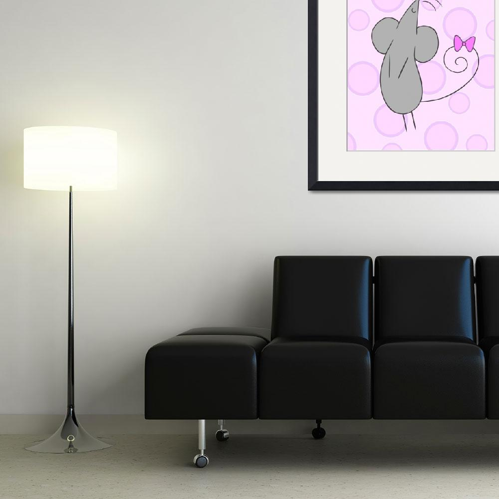 """""""Mouse Nuraery Art""""  (2011) by ChristyBeckwith"""