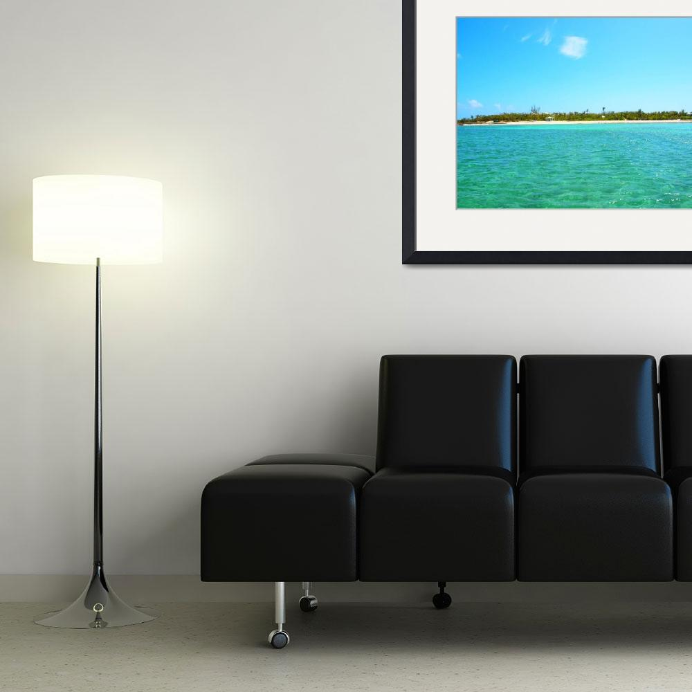 """""""Abaco Cays&quot  (2012) by paulyworksfineart"""