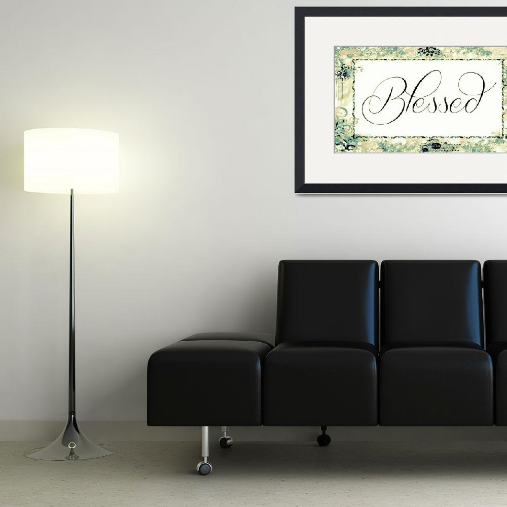 """""""blessed frame vintage color&quot  by lizmix"""