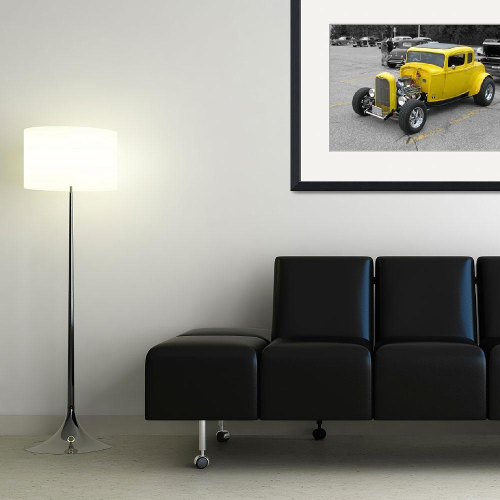 """""""Yellow Coupe Hot Rod Ultra""""  (2011) by NorthPointImages"""