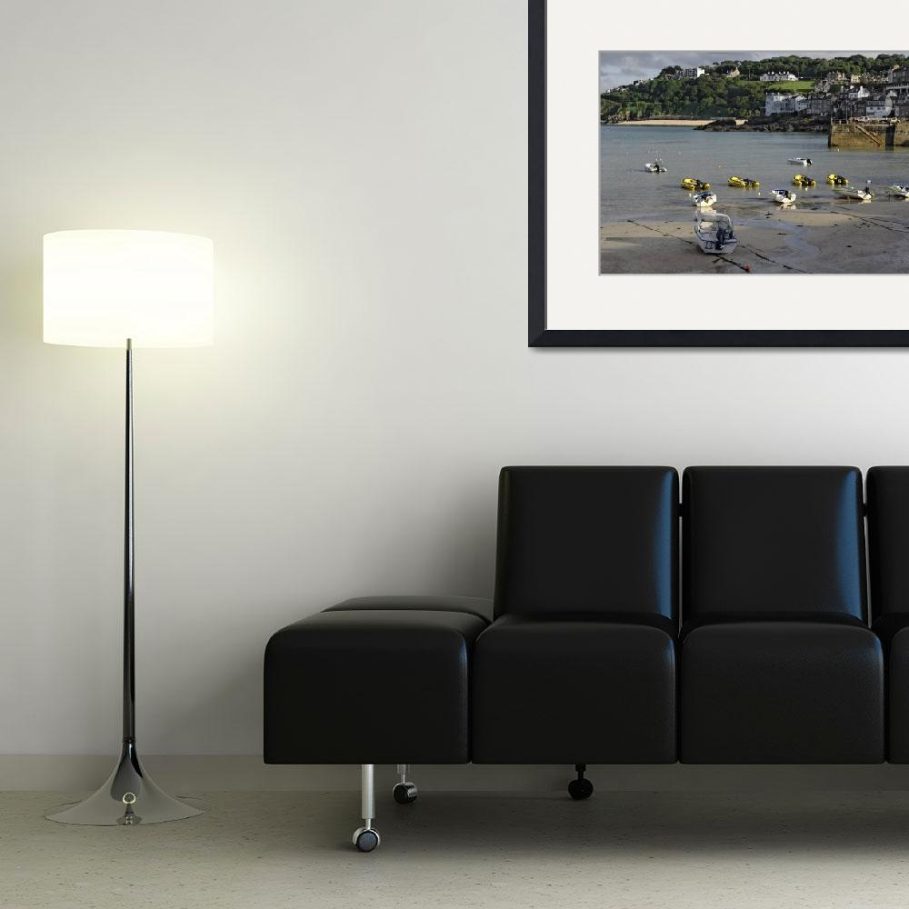 """""""St Ives Harbour, 01 (38832-RDA)&quot  (2013) by rodjohnson"""