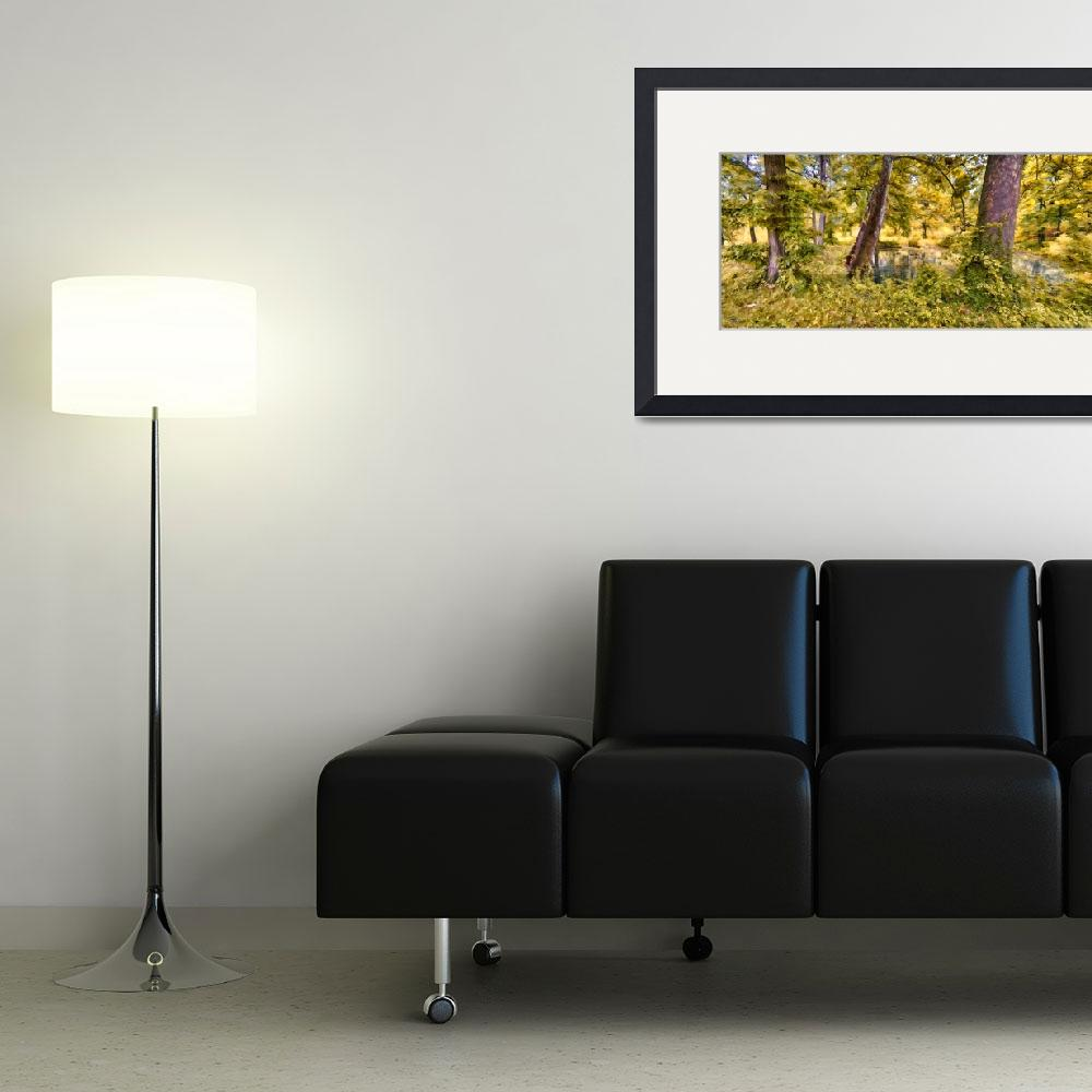 """""""woods panorama""""  (2013) by Felstead"""